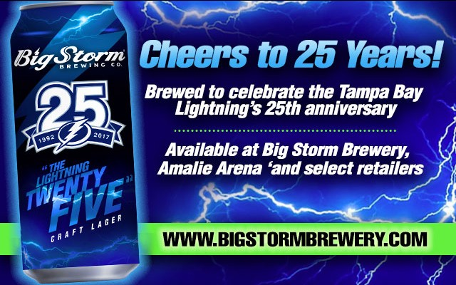 Big Storm Brewing- Cheers to 25 Years