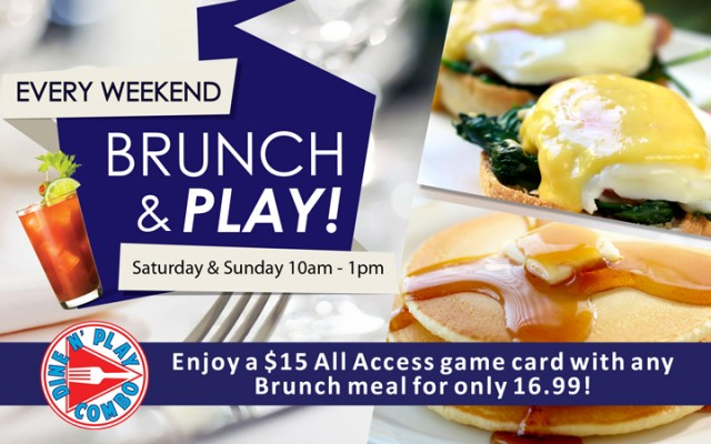 GameTime Brunch & Play Deal
