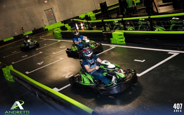 Andretti's Indoor Karting And Games