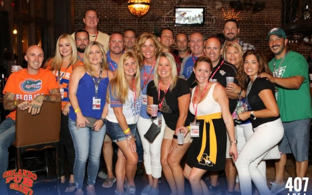 Kick Off Football Season With The College Game Day Orlando Pub Crawl