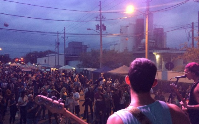 Rockin' Robinson Shuts Down The Milk District For The Now Annual Street Party