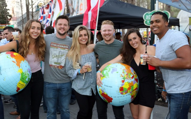 Around the World In One Day: Drink Around the World at Wall Street Plaza!