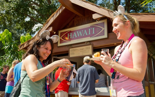 Wine and dine at the Epcot international food and wine festival