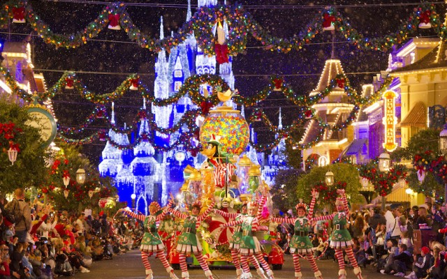 Christmas at Disney World in Orlando