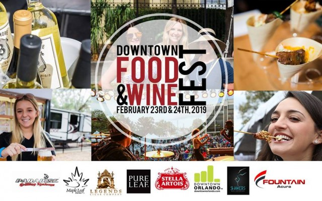 Downtown Orlando Food & Wine Festival 2019 2/23-24