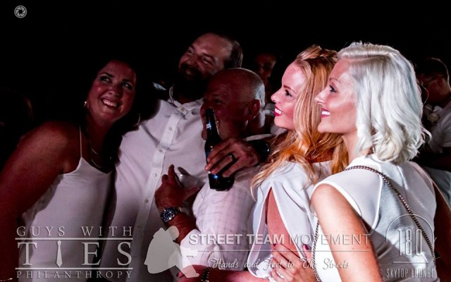 Dress To Impress For A Great Cause During The Guys With Ties White Party