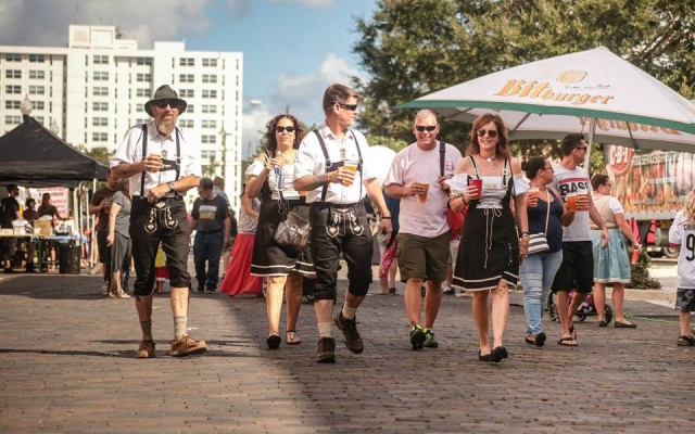 Don Your Lederhosen For Hollerbucks Annual Oktoberfest Bash In Sanford