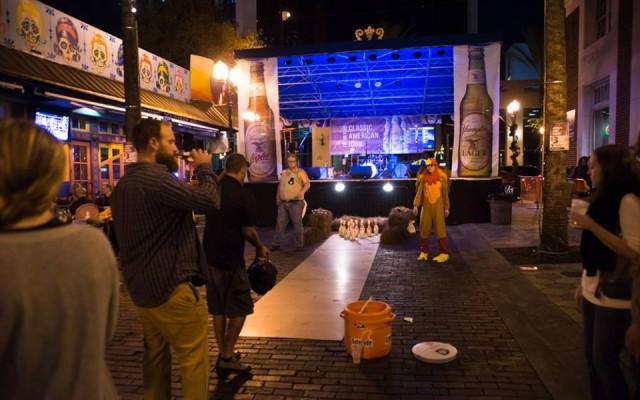 Turkey Bowling Strikes Again On Wall Street Plaza