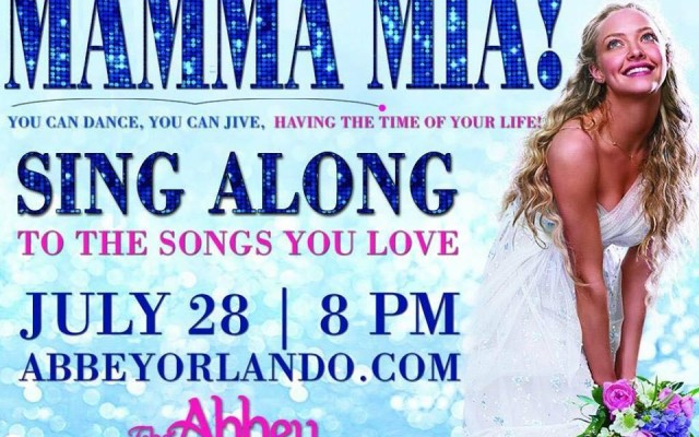 Dancing Queens Get Ready To Sing A Long To Mamma Mia At The Abbey Orlando