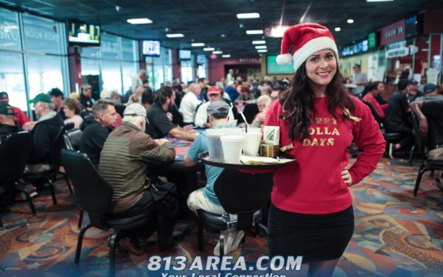 Annual Xmas Eve Promo at Silks Poker Room