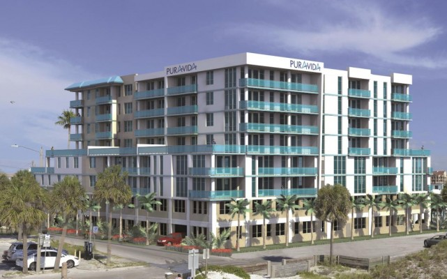 Clearwater Beach Welcomes New Pura Vida Residential Development to its Acclaimed Waterfront