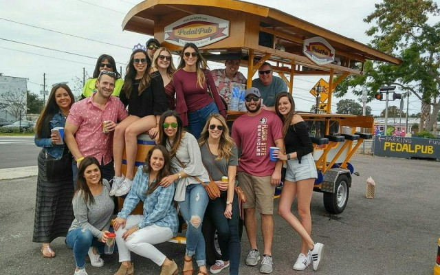 PedalPub's Nano Brewery Tour Shows You the Sights and Sounds of St Pete!
