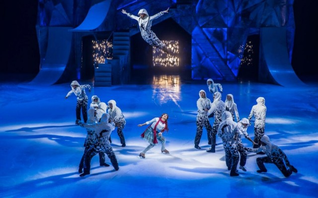 Cirque du Soleil Raises the Bar By Lowering the Temp to Stage its Signature Entertainment on Ice with Crystal