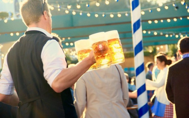 Prep For Oktoberfest With Beer Steins, Lederhosen, Decorations and More Apparel