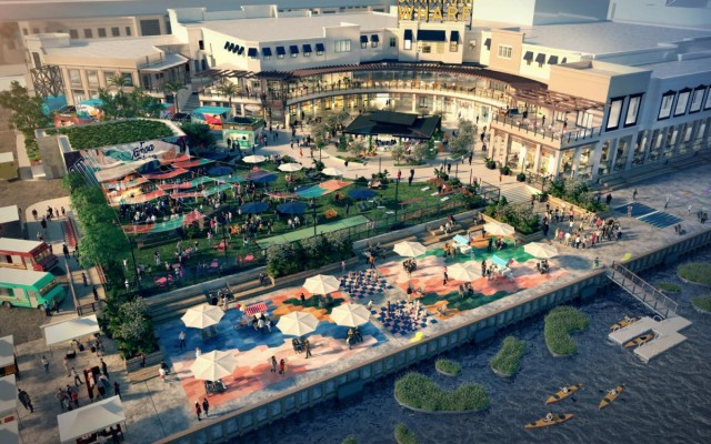 Sparkman Wharf Will be New Destination Along Tampa's Channelside Waterfront This Fall