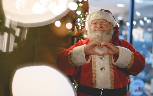 Where to See Santa in Austin
