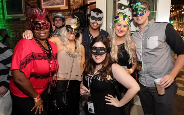 Put Your Mask on and Be Ready to Party at Downtown Crawlers' Annual Masquerade Bar Crawl!