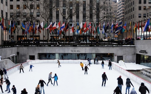 Skating Rinks in New York City