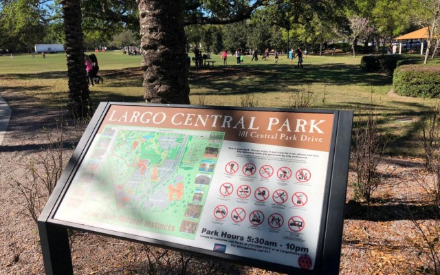 Largo Central Park is Fun For The Entire Family, and Comes With A Railroad!
