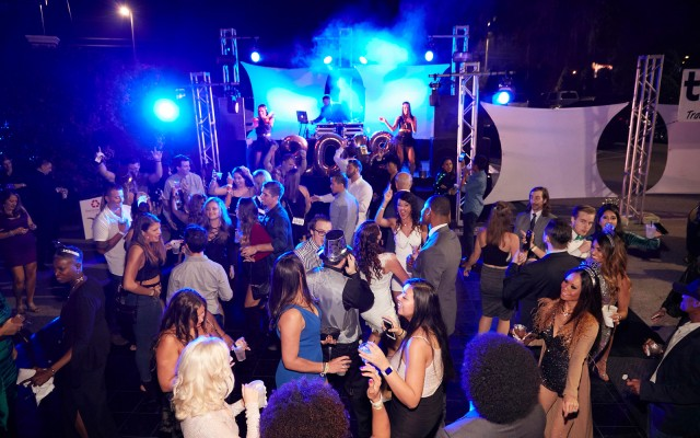 Pied Pipers NYE 2019 at The Godfrey hosted by Mario Lopez