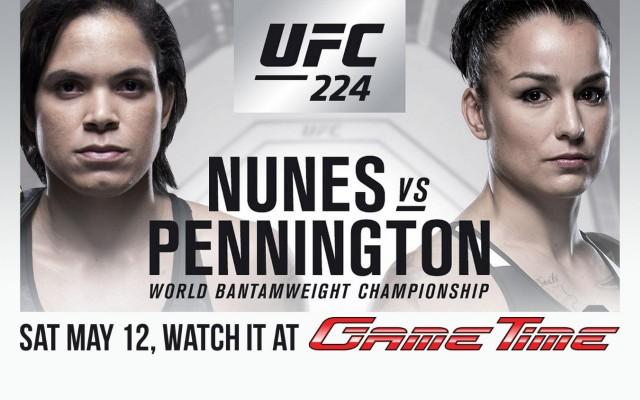 Watch UFC 224 at GameTime!
