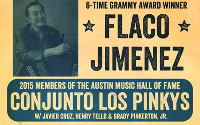 FLACO & Conjunto Los Pinkys-Blue Christmas Tex-Mex Dance Party