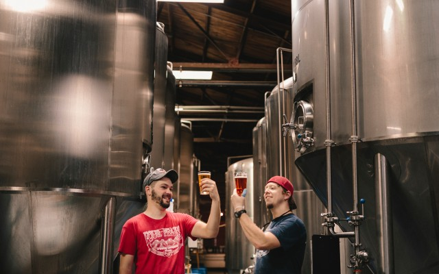 Breweries in Charleston