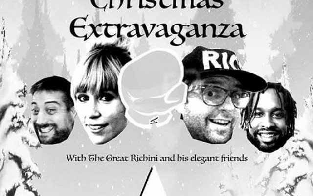 The Great Richini's A Very Extravagant Christmas Extravaganza