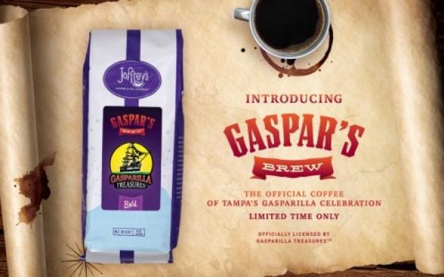Joffrey's Coffee Creates 'Gaspar's Brew' to Celebrate Gasparilla in Tampa