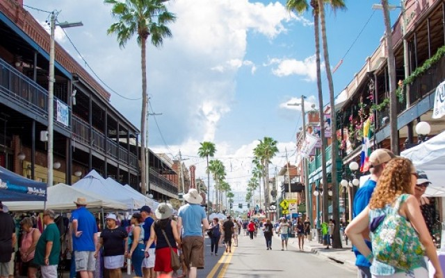 Annual Fiesta Day in Ybor Brings in Families For a Heritage and Culture Celebration