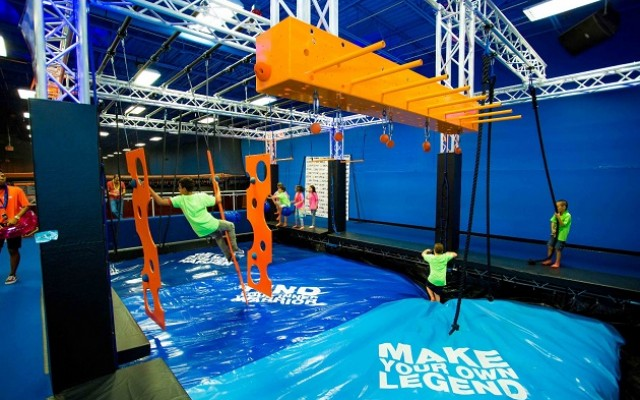 SkyZone Kansas City Hosts Warrior Weekend With Opening of Ten New Attractions!