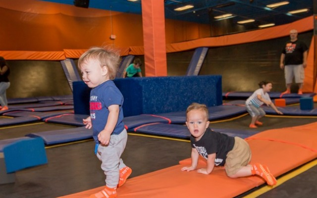 Toddler Time at Sky Zone Tampa is Perfect for Your Little One!
