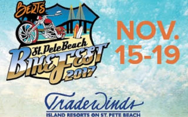 St. Pete Beach BikeFest Coming To Tradewinds Resort November 15-19