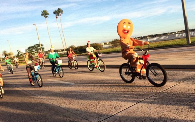 Grab Your Bike and Costume and Get Ready for Fun at the Annual Winter Wonder Ride in Tampa!