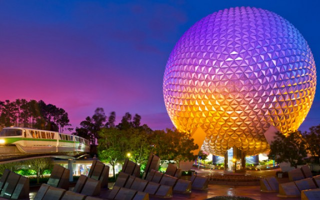 2018 New Year's Eve at Epcot