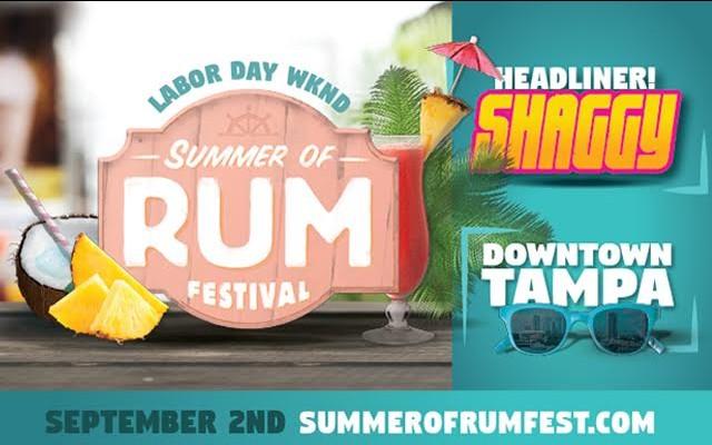 Summer of Rum Festival 2017