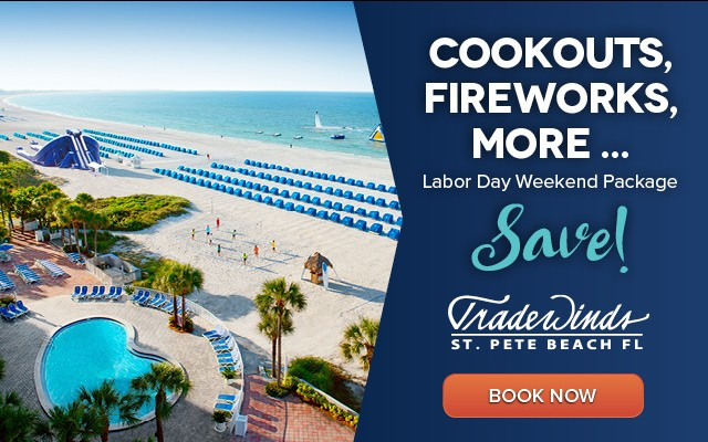 Tradewinds Labor Day Endless Summer 3-Night Package