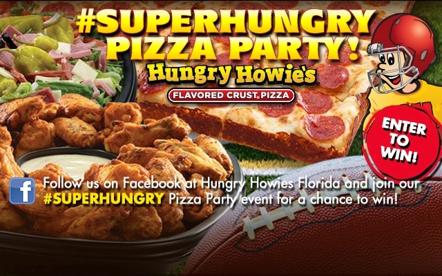 Enter to Win $100 at Hungry Howie's Pizza & Subs