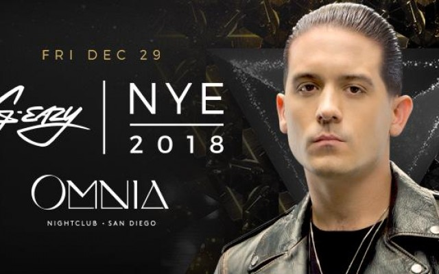 G-Eazy New Year's Eve Weekend