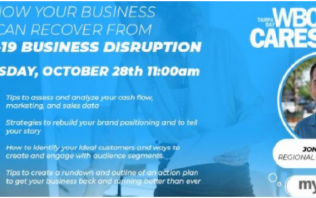 Free Webinar | How Your Business Can Recover From COVID-19 Business Disruption