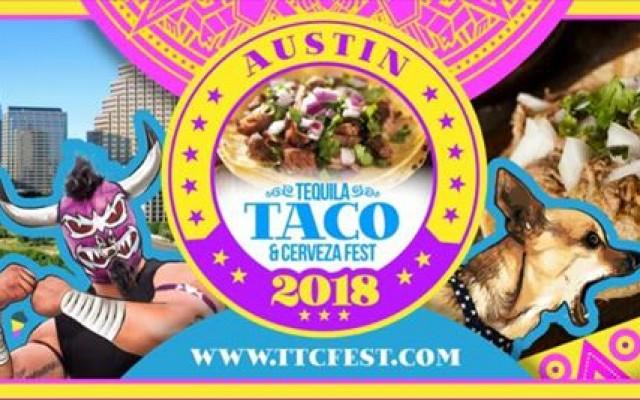 2018 Austin, TX Tequila, Taco, & Cerveza Festival at Fair Market