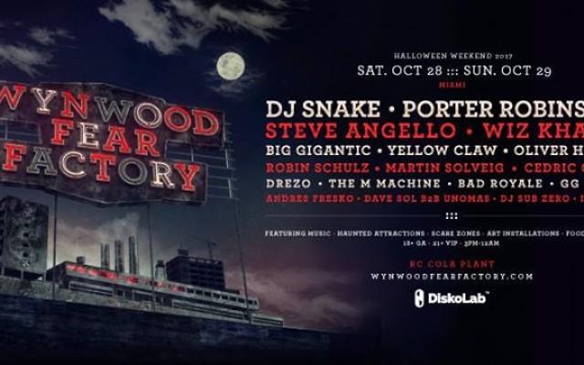 Wynwood Fear Factory 2017 - Halloween Weekend