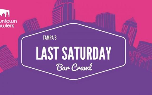 Tampa's Last Saturday Bar Crawl w/ Party Bus