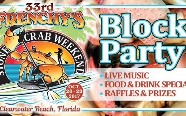33rd Annual Frenchy's Stone Crab Weekend