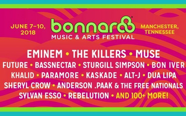 Bonnaroo Music & Arts Festival - 2018
