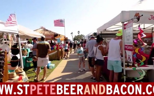 Annual St Pete Beer & Bacon Festival Returns to Vinoy Park
