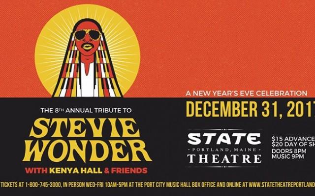 NYE: 8th Annual Tribute To Stevie Wonder w/ Kenya Hall & Friends