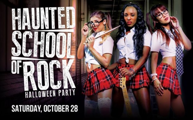 Haunted School of Rock Halloween Party