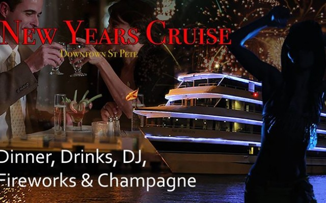2018 New Year's Eve Cruise aboard the Sir Winston!