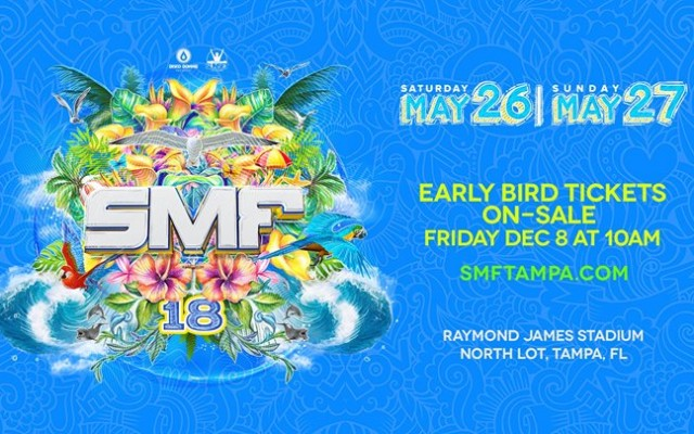 Sunset Music Festival 2018 - Memorial Day Weekend - Tampa, FL